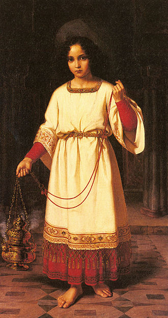 Acolyte - The Acolyte by Abraham Solomon, 1842