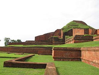 Bengali Buddhists - Somapura Mahavihara from the Pala dynasty, a UNESCO World Heritage Site