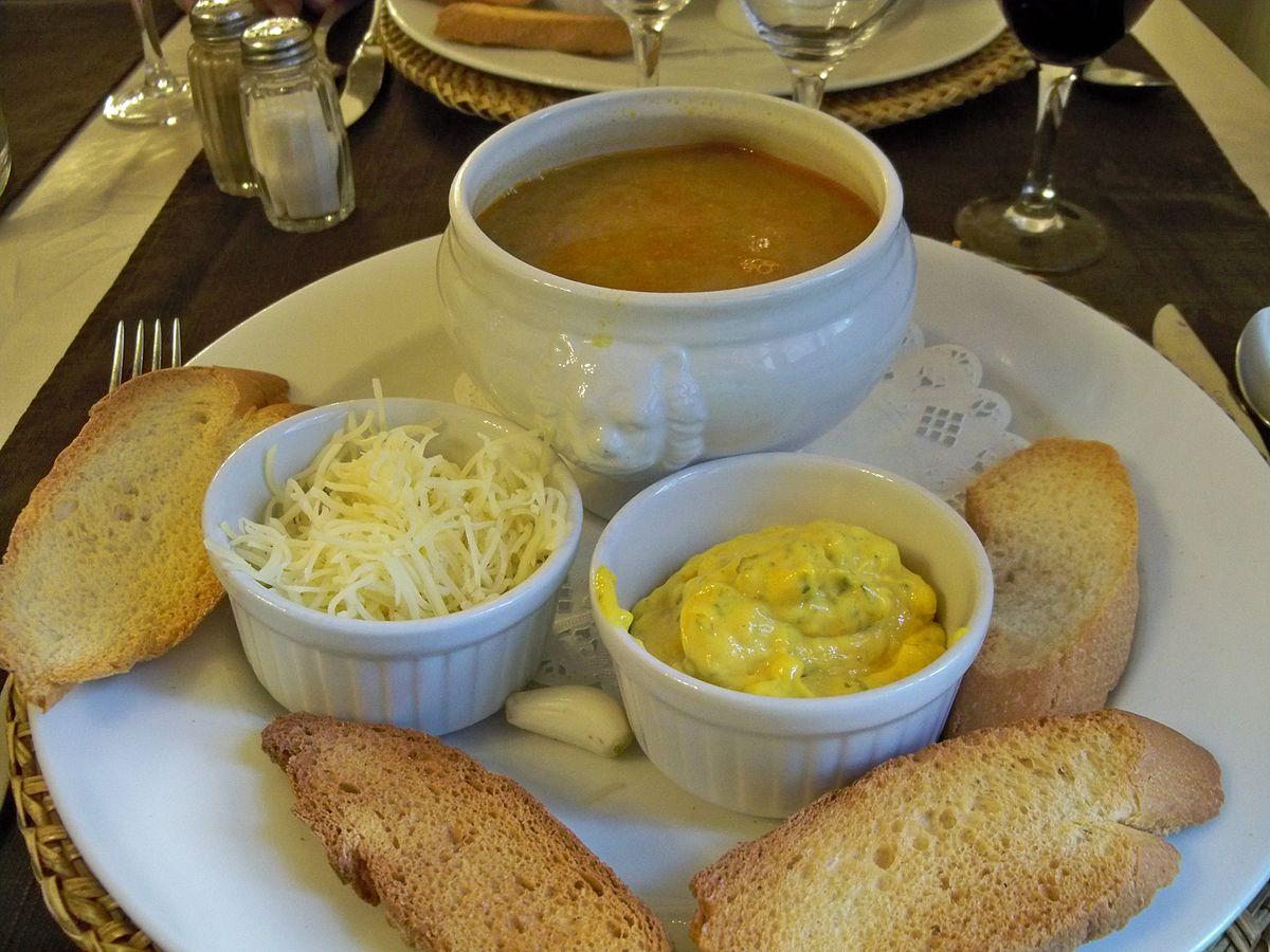 Cuisine arl sienne et camarguaise wikip dia - Cuisine soupe de poisson ...