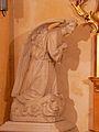 Sourzac église transept nord statue.JPG