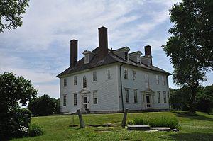 Hamilton House (South Berwick, Maine) - Hamilton House in 2014