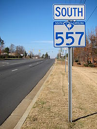 South Carolina Highway 557 South.JPG