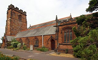 St Peters Church, Heswall Church in Merseyside, England