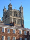 South tower, Exeter Cathedral - geograph.org.uk - 252429.jpg