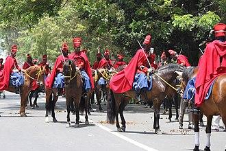 Red Guard of Senegal - Red Guard at Macky Sall Inauguration (2012).