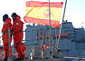 Spanish warship SPS Almirante Juan De Borbon visits Naval Station Norfolk DVIDS357091.jpg
