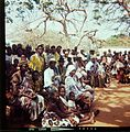 Spectators of Ashina feast- Ashina-juhlan osallistujia Ouidah'ssa (16400867098).jpg