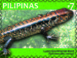 Sphenomorphus cumingi 2011 stamp of the Philippines.jpg