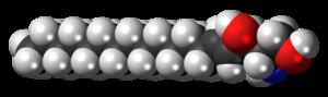 Sphingosine - Image: Sphingosine 3D spacefill