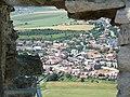 Spišské podhradie z okna hradu - panoramio.jpg