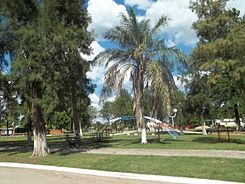 Square in Lapachito.JPG
