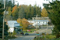 Hamlet of St. Regis Falls within Waverly
