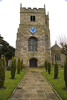 St Michaels Church, St Michaels on Wyre Church in Lancashire, England