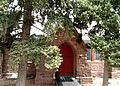 St. Andrews Church, Manitou Springs - Manitou Avenue side door.jpg