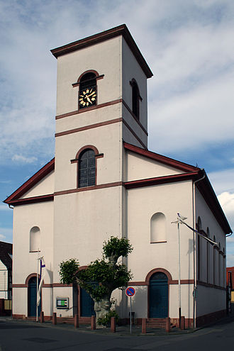 Kelsterbach - St. Martin's Evangelical Church