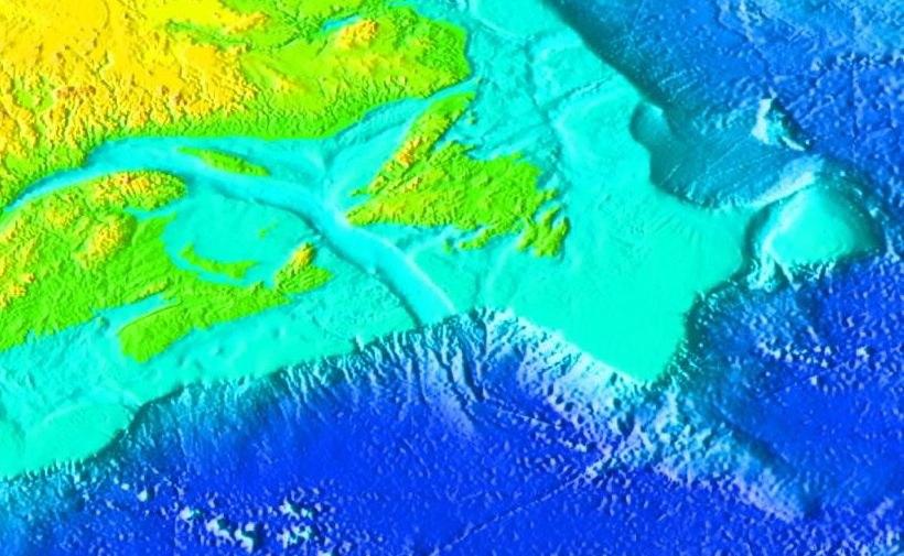 StLawrence Gulf bathymetry