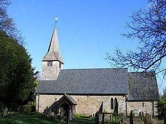 Ashford Bowdler - St Andrew's church