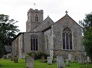 Buxton, Norfolk - Image: St Andrew, Buxton, Norfolk geograph.org.uk 316144