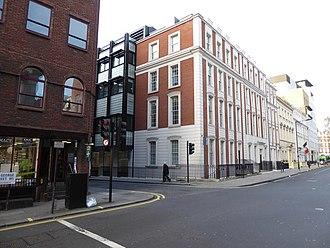 Kleinwort Benson - Kleinwort Benson's offices at St George Street in London