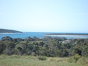 St Helens, Tasmania - George's Bay and Barway