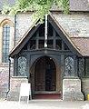 St John the Baptist's Church, Church Road, Locks Heath (May 2019) (Entrance Porch).JPG