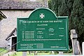 St John the Baptist, Clayton, Sussex - Notice board - geograph.org.uk - 1506231.jpg