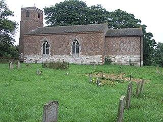 Welton le Marsh village in United Kingdom