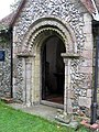 St Mary Magdalene, Tortington, Sussex - Porch - geograph.org.uk - 1652705.jpg
