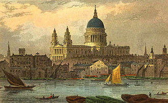 Thomas H. Shepherd - St Paul's Cathedral