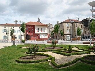 Saint-Rambert-d'Albon - A view within Saint-Rambert-d'Albon