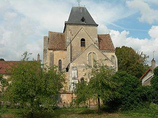 Saint-Vérain Commune in Bourgogne-Franche-Comté, France