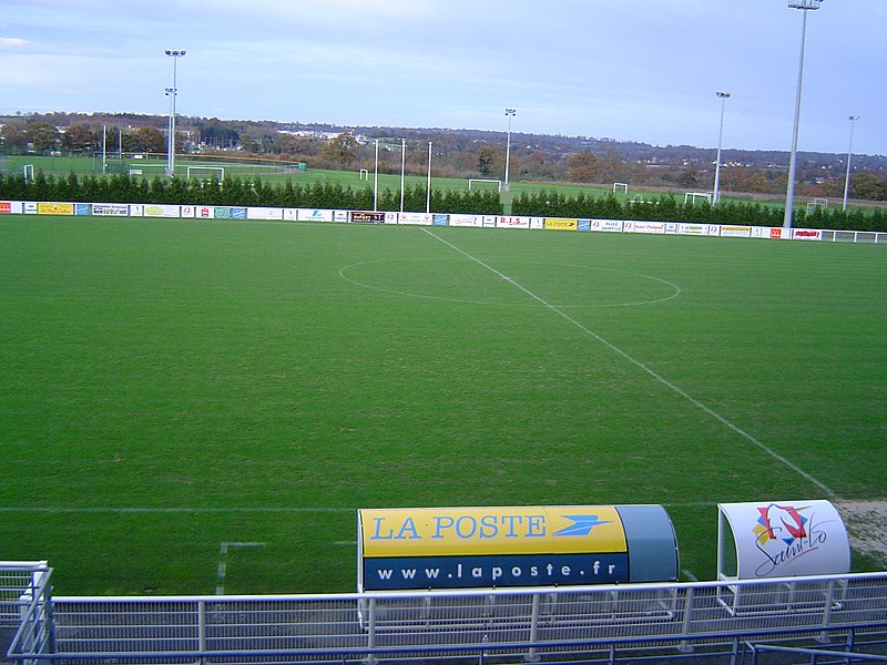 The stadium of Saint-Lô