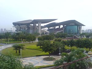 2010 Asian Games - Guangdong Olympic Stadium used for all the athletics events