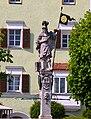 Stadtplatz Tittmoning Florianibrunnen.JPG