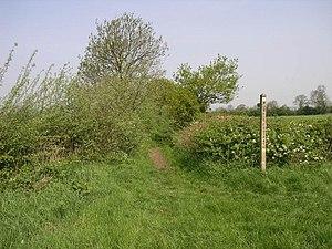 Staffordshire Way - Image: Staffordshire Way geograph.org.uk 169056