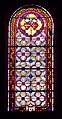 Stained glass window in Notre-Dame-de-la-Nativite Church of Cenac 04.jpg
