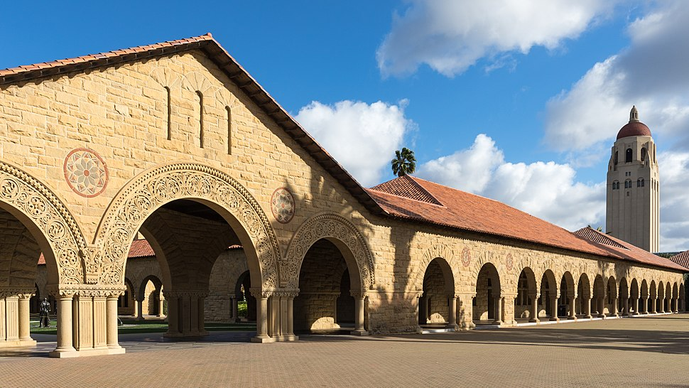 Stanford University campus in 2016