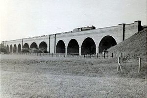 Great Central Railway (Nottingham) - Stanford Viaduct