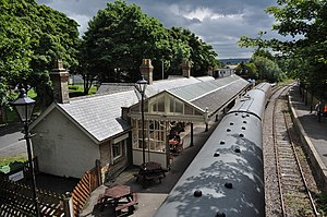 Stanhope, County Durham - Image: Stanhope Railway Station geograph.org.uk 2531690