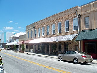 National Register of Historic Places listings in Bradford County, Florida - Image: Starke Hist Dist street 01