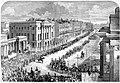 State funeral the Duke of Wellington, London 1852 - Apsley House.jpg
