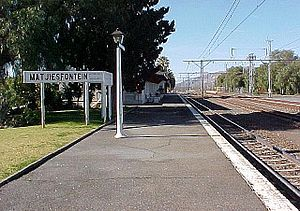 Matjiesfontein - Matjiesfontein Station