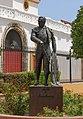Statue Curro Romero Real Maestranza Seville Spain.jpg
