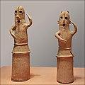 Statuettes Haniwa de danseurs (Musée national de Tokyo, Japon) (28538475017).jpg