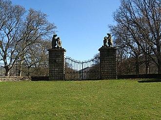 Traquair - Steekit Yetts ('Stuck Gates') of Traquair House