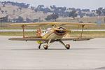 Steen Skybolt (VH-JOL) taxiing at Wagga Wagga Airport.jpg