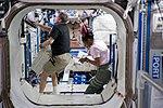 Stephanie Wilson STS-131 mission specialist in US lab.jpg