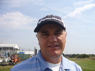Stephen Dodd professional golfer