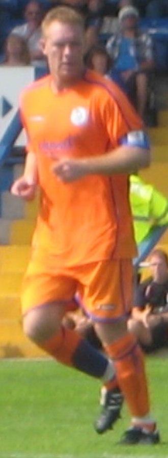 Steve Watson - Watson playing for Sheffield Wednesday in 2008