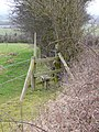 Stile on Hunger Hill - geograph.org.uk - 1157872.jpg
